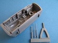 BAC TSR-2 nose wheel bay for Airfix - Image 1