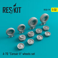 "A-7 ""Corsair II""D wheels set"