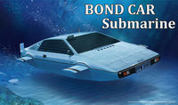 007 BOND CAR submarine
