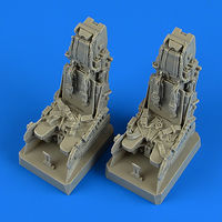 EF Typhoon ejection seats with safety belts REVELL