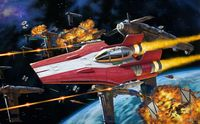 Star War Resistance A-Wing Fighter, R - Image 1