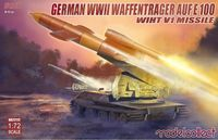 German WWII Waffenträger auf E-100 with V1 Missile