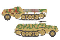 German sWS Supply Ammo Vehicle & Armored Cargo Version(2in1)