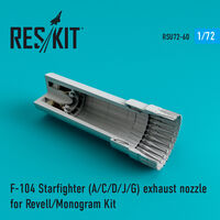 F-104 Starfighter (A/C/D/J/G) exhaust nozzle for Revell/Monogram Kit - Image 1