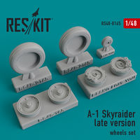 A-1 Skyraider late version wheels set