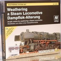 73099 Weathering System Set - Weathering a Steam Locomotive