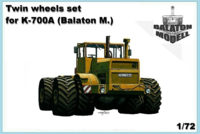 Twin wheels set for K-700A kit - Image 1