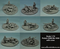 Polish CKM Wz 1930 with Crew Set #1