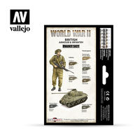 70204 WWII British Armour & Infantry Set