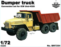Dump truck conversion set for ICM Ural kit