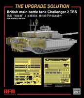The upgrade solution for RM-5039 British main battle tank Challenger 2 TES
