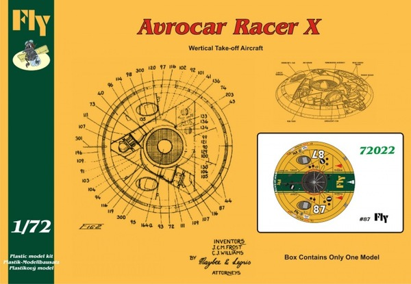 Avrocar Racer X fly - Image 1