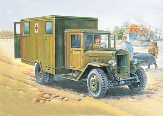ZIS-44 military ambulance - Image 1