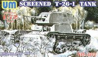 Screened T26 Tank