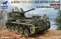 US M19A1 Twin 40 MM Gun Motor Carriage