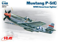 Mustang P-51C WWII American  fighter