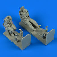 German Luftwaffe Pilot and Gunner WWII with seats for Ju 87 Stuka HAS/TRU - Image 1