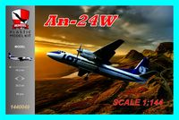 An-24W PLL LOT Polish Airlines
