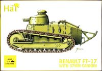 Renault FT-17 with 37mm Cannon (2pcs)