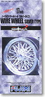 17inch Normal Wire Wheels Silver Type