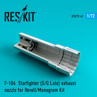 F-104 Starfighter (S/G Late) exhaust nozzle for Revell/Monogram Kit - Image 1