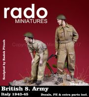 British 8. Army Italy 1943-45 Decals, PE & extra parts included - Image 1