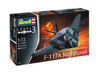 Lockheed Martin F-117A Nighthawk Stealth Fighter Model Set