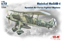Heinkel He-51 Spanish Nationalist Air Force fighter-biplane