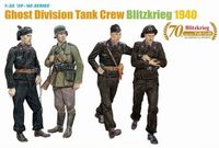 Ghost Division (7th Panzer Division) Tank Crew (Blitzkrieg 1940) - Image 1