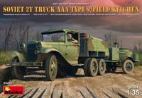 Soviet 2t Truck AAA w/field kitchen