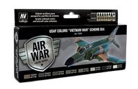 "71204 Air War Color Series - USAF Colors ""Vietnam War"" Scheme SEA set"