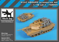 M1A2 Abrams accessories set for Tamiya - Image 1