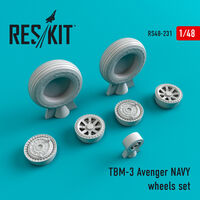 TBM-3 Avenger NAVY wheels set - Image 1