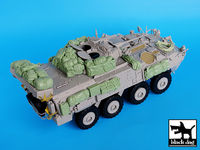 Canadian Lav III accessories set for Trumpeter