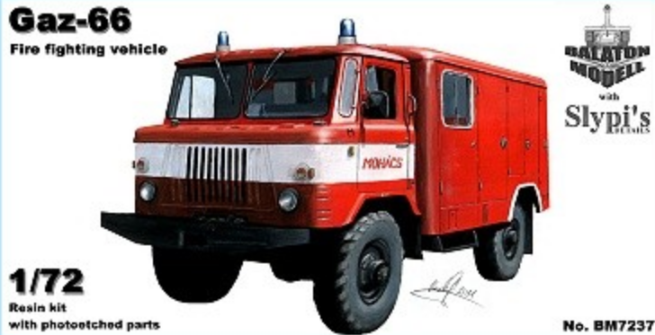 Gaz-66 fire fighting vehicle - Image 1