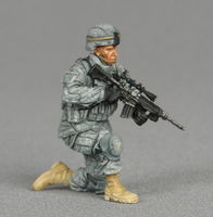 American marksmen in patrol group - Image 1