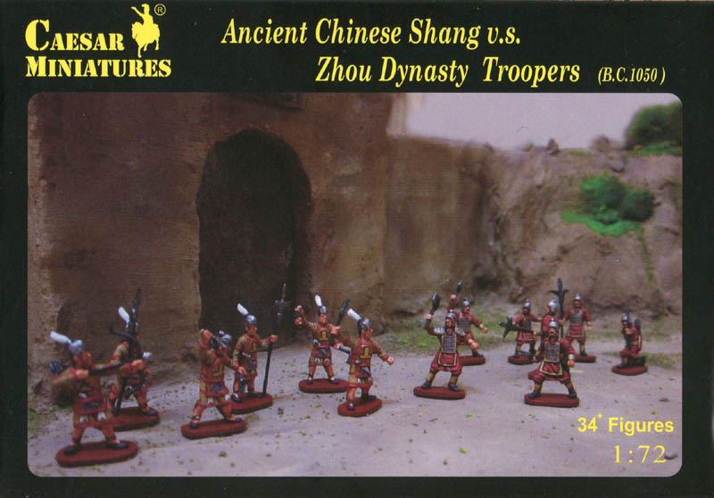Ancient Chinese Shang vs Zhou Dynasty Troopers - Image 1