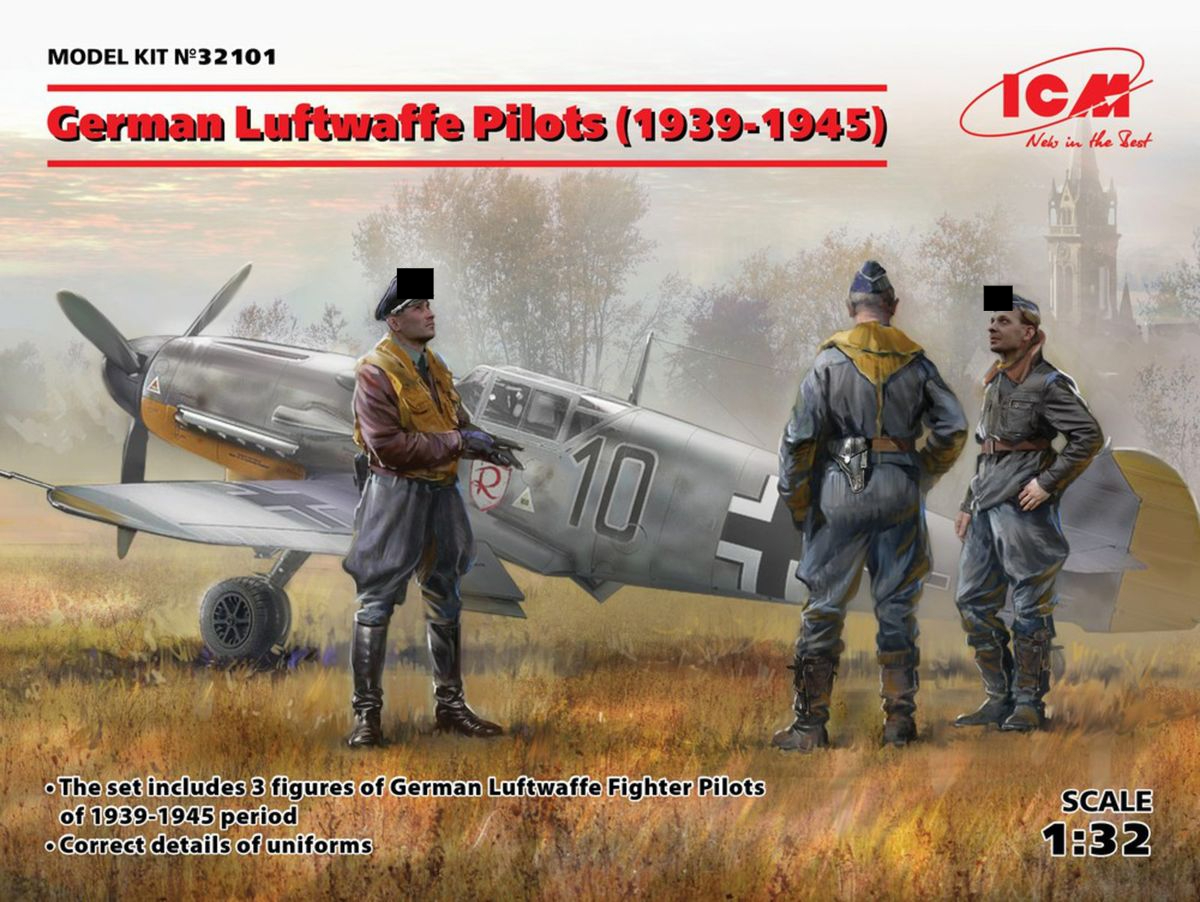 German Luftwaffe Pilots (1939-1945) (3 figures) - Image 1