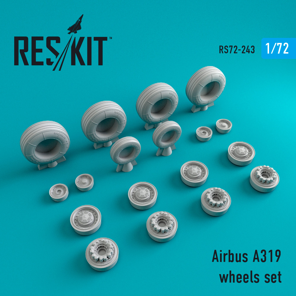 A319 wheels set - Image 1
