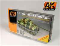 AK 167 German Green And Brown Modulation Set