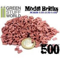 Model Bricks - Dark Red x500 - Image 1