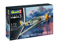 Focke Wulf Fw190 F-8 Model Set
