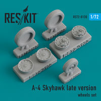 A-4 Skyhawk late version wheels set