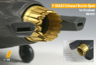 Exhaust nozzles for F-35A/C (KITTYHAWK) - Image 1