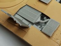 M1A2 Abrams engine filter for Tamiya - Image 1
