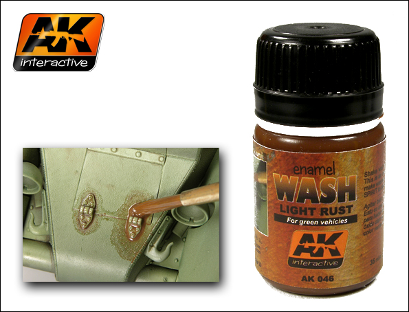 AK 046 Light Rust Wash - Image 1