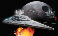Star Wars Imperial Star Destroyer Build & Play model kit - Image 1