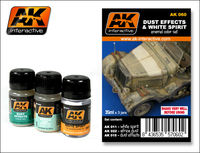 AK 060 DUST EFFECTS AND WHITE SPIRIT SET