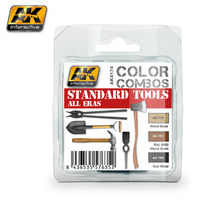 AK4174 COLOR COMBO STANDARD TOOLS ALL ERAS SET