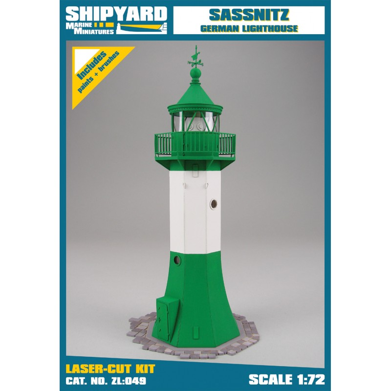 Lighthouse Sassnitz skala 1:72 - Image 1